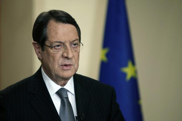 A file photo of Cyprus President Nicos Anastasiades. Photo: AFP