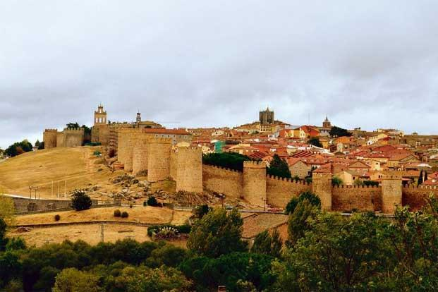 Avila Spain In A Land Of Stones And Saints Livemint