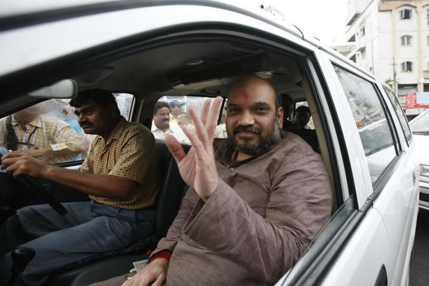In a surprise development, Amit Shah, former Gujarat state home minister and an accused in the Sohrabuddin encounter case, has been named as one of the ten party general secretaries. HT