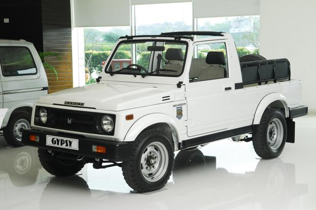 Maruti doesn't want to upgrade the Gypsy or develop a new platform as the cost involved wouldn't be justified by the numbers it could sell, according to a company official.Photo: Pradeep Gaur/Mint (Pradeep Gaur/Mint)