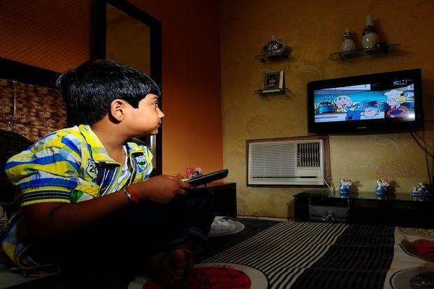 While children watch what parents watch in many homes, they increasingly control the remote at certain times of the day. Photo: Priyanka Parashar/Mint (Priyanka Parashar/Mint)