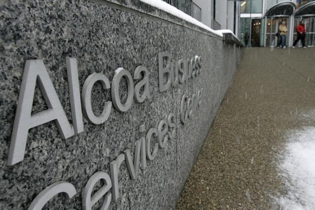 Alcoa's low share price of $8.39 at Monday's close earns it a meagre 0.4% overall weighting in the Dow industrials. Photo: Reuters