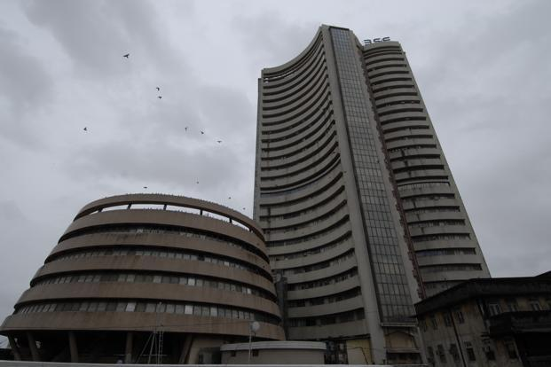 The S&P BSE Sensex surged 1% to 18,414.45 at the close in Mumbai, after changing directions at least nine times. Photo: Abhijit Bhatlekar/Mint