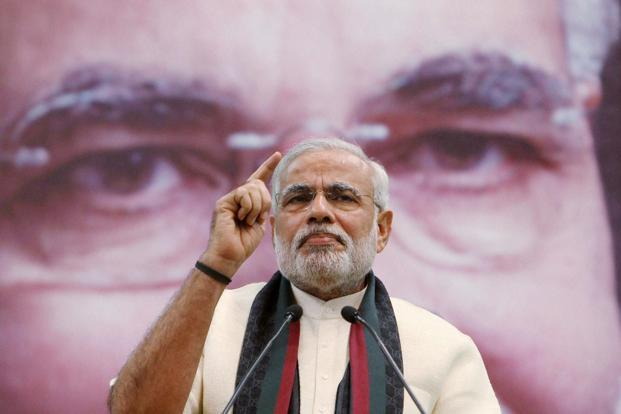 Narendra Modi: Whether he will become the next Prime Minister of India remains to be seen, but, the Gujarat CM hogs prime-time news and grabs front-page headlines. In the last few weeks he has been on a speaking spree in Delhi and Kolkata. PTI