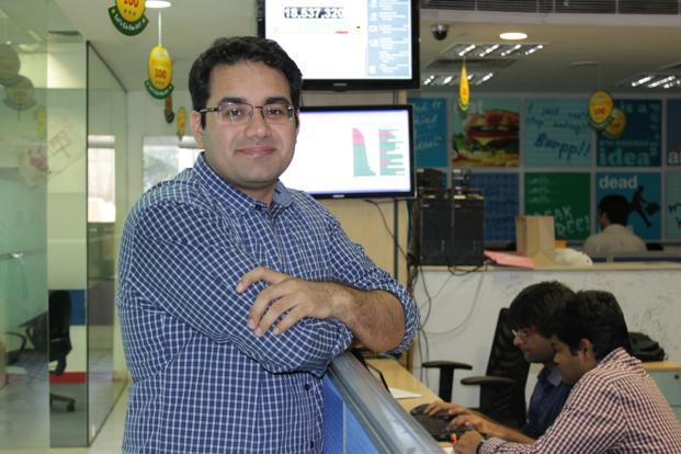 Kunal Bahl, chief executive, Snapdeal.com.