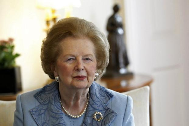 During her lifetime, Thatcher sat for a number of portraits, though she proved to be a fount of inspiration for artists even when she was not offering herself as a subject of study. Photo: AFP