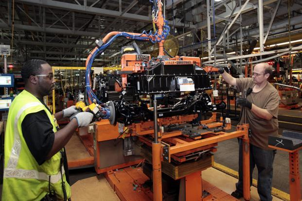 Ford's assembly plant in Wayne, Michigan. Photo: Reuters