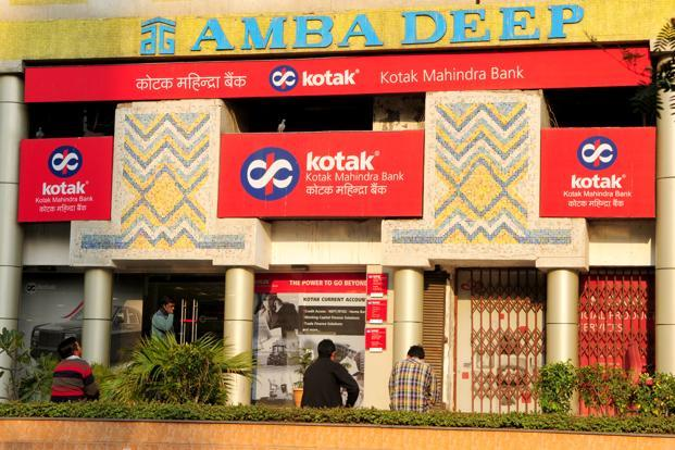 At 11am, Kotak shares were up 0.84% at Rs634 apiece, while the benchmark 30-share Sensex was down 1.45%. Photo: Ramesh Pathania/Mint