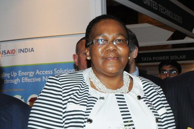 South Africa's energy minister Elizabeth Dipuo Peters says not enough has been done by the West to keep its clean energy commitments. Photo: PIB