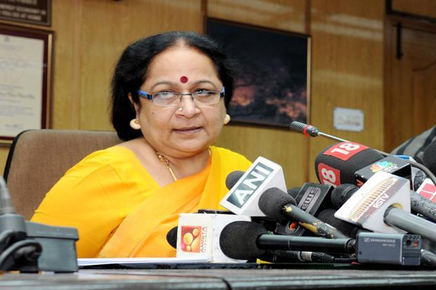 A file photo of environment minister Jayanthi Natarajan. Photo: PIB