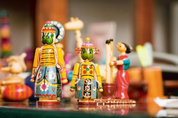 Channapatna karnataka back in the game livemint Handicraft things for home decoration