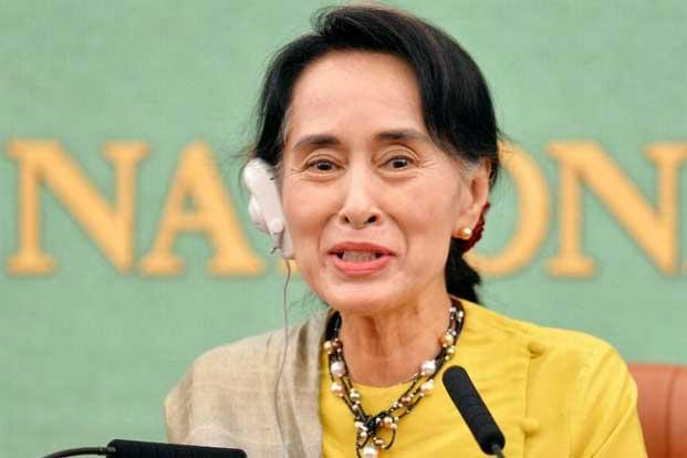 Suu Kyi's core constituency in the dominant Burman population sees the Rohingya as worthless illegal immigrants, and any offers of support may haunt her at the elections. Photo: Kazuhiro Nogi/AFP