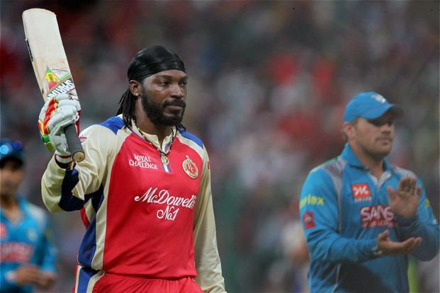 Chris Gayle smashes century off 30 balls, makes record 175 not out