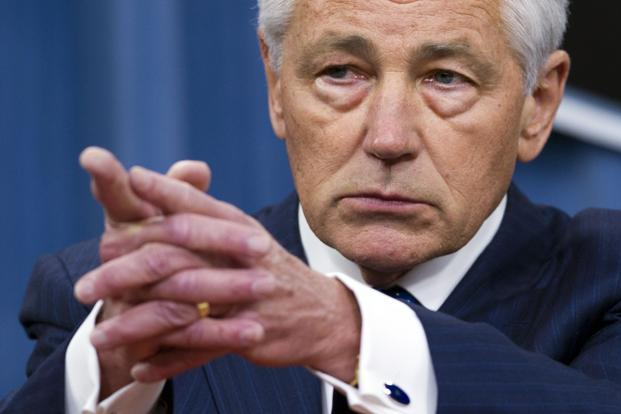 US secretary of defense Chuck Hagel says intelligence agencies were still assessing whether chemical weapons had been employed. Photo: AFP