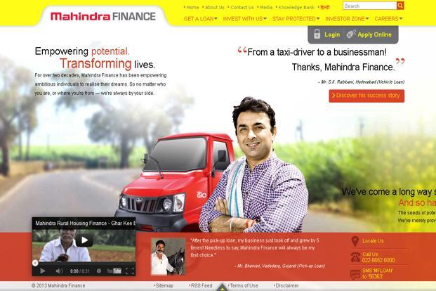Mahindra Finance Slows Down A Bit Livemint