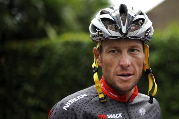 Lance Armstrong has been stripped of his seven Tour de France titles and was banned for life from cycling in 2012 after accusations he had cheated for years. Photo: AFP