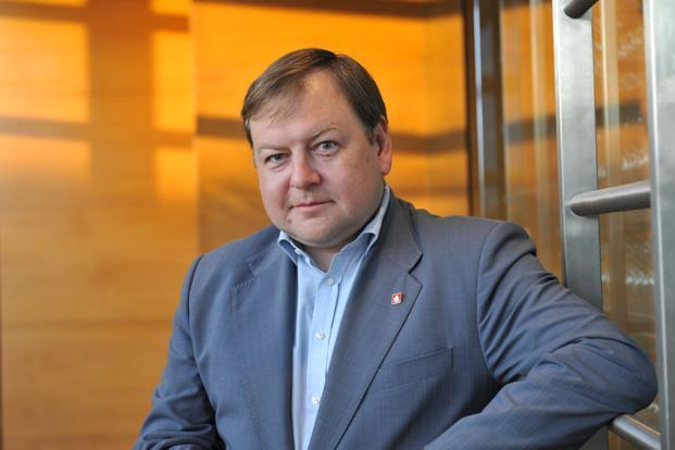 A file photo of SSTL's chief executive officer Vsevolod Rozanov. Rozanov will move to Sistema JSFC headquarters in Moscow. Photo: S. Kumar/Mint  (S. Kumar/Mint )
