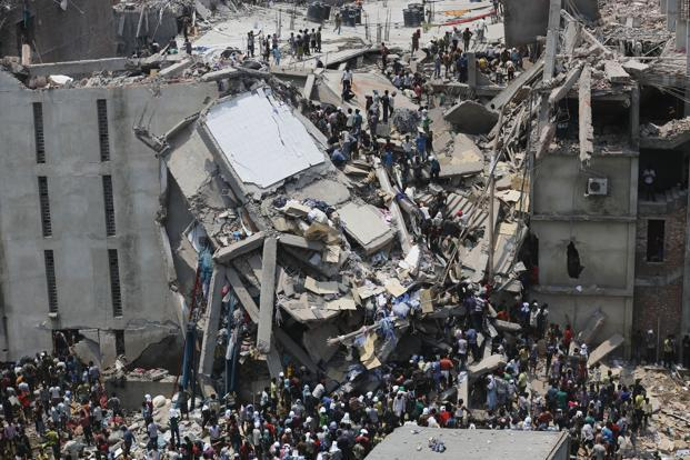 The incident further highlighted safety problems in the clothing industry in Bangladesh that supplies low-cost products and services to Western retailers. According to news reports, the cracks in the building were already visible on Tuesday. Reuters