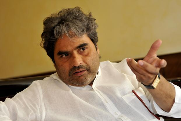 Vishal Bhardwaj at the Centenary Film Festival at Siri Fort auditorium in New Delhi on Friday. Photo: Hindustan Times