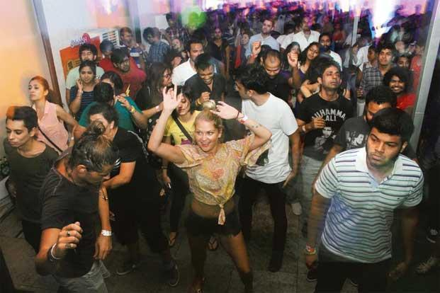 A Smash Up event at Smaaash in Lower Parel, Mumbai. Photo: Sameer Joshi/Mint