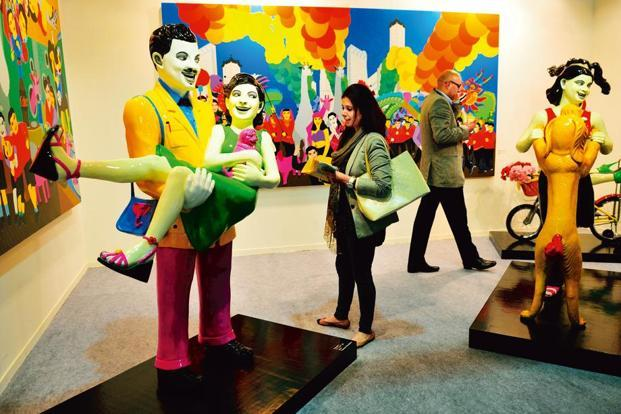 The India Art Fair, 2013. Photo: Priyanka Parashar/Mint