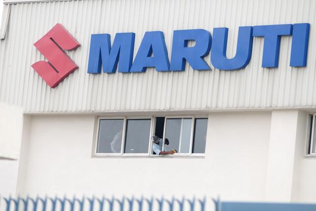 Maruti Suzuki's numbers reflect a change in fortunes from the troubles it faced last year, when its Manesar plant was shut for a month. Photo: Pradeep Gaur/Mint