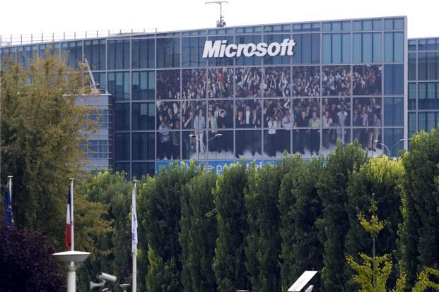 A file photo of Microsoft headquarters in Issy-les-Moulineaux, near Paris. Photo:  Reuters