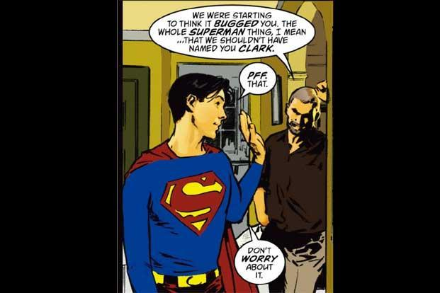 Busiek's 'Superman: Secret Identity'