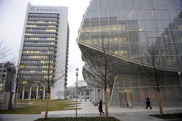 A file photo of Novartis AG headquarters in Basel, Switzerland. Photo: Bloomberg