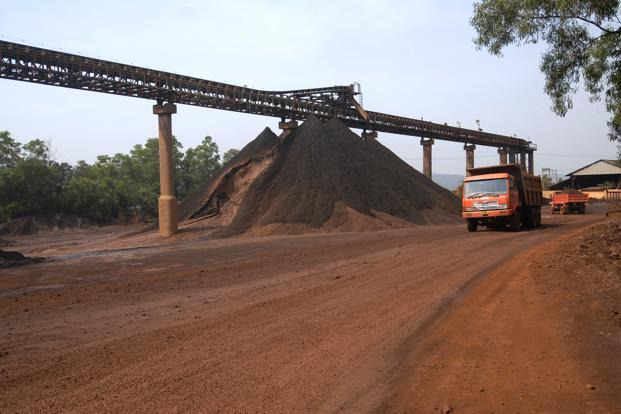 The Sesa Goa stock has declined by 20.3% from its level three months ago. Photo: Abhijit Bhatlekar/Mint