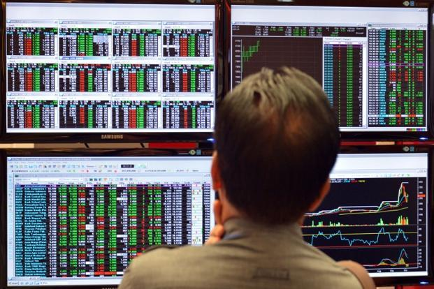 The MSCI's broadest index of Asia-Pacific shares outside Japan was up 0.2%, but off a six-week high touched on Friday. Photo: AFP