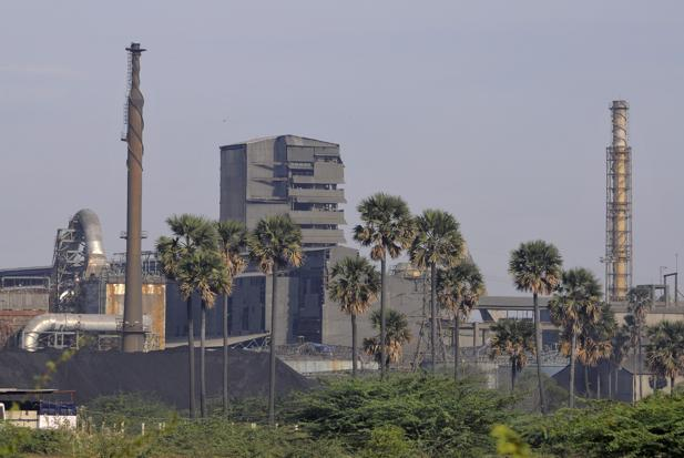 Sterlite Industries India was ordered to shut its smelter in Tuticorin on 30 March after residents complained of emissions that resulted in breathing difficulties. Photo: Reuters