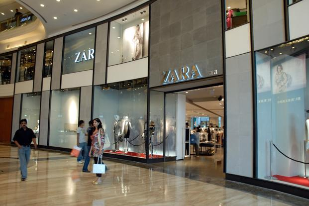 Spanish brand Zara, owned by the Inditex Group. is one of the foreign retailers whose success in India has encouraged overseas brands to venture into the country. Photo: Mint