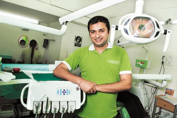 MyDentist director & CEO Vikram Vora. Photo: Abhijit Bhatlekar/Mint (Abhijit Bhatlekar/Mint)