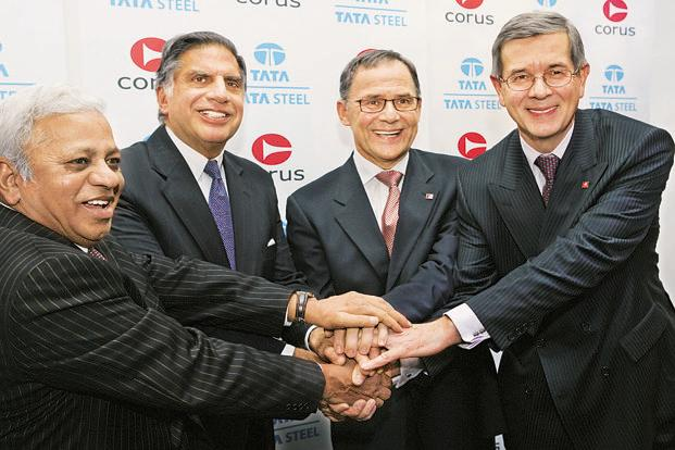 Tata and corus: a case of acquisition by: sripriya(2t3-17) swathi (2t3