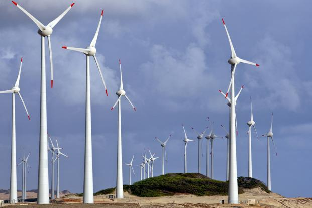 In 2012 India was the world's fourth-largest market for new wind power projects. Photo: Bloomberg
