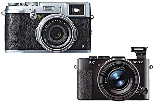 Fujifilm X100s (above) and Sony DSC-RX1