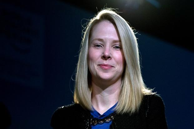 Marissa Mayer also has met with representatives of Google, her former employer, who have agreed verbally upon an alternate search-ad partnership should the arrangement with Microsoft end, one of the people said. Photo: AFP