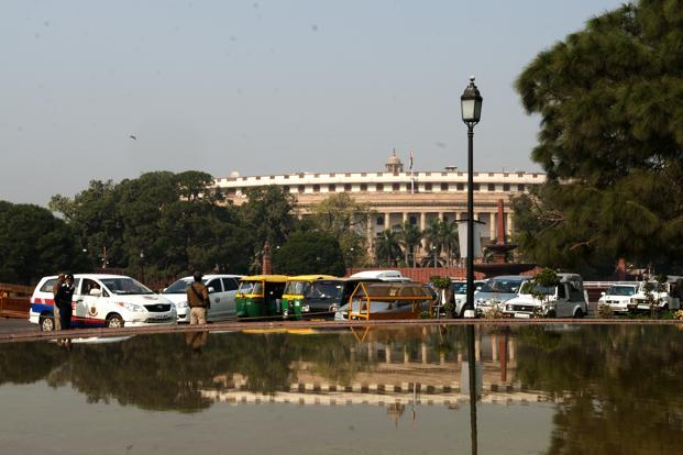 The session, one of the least productive on record, has been disrupted for two weeks by opposition demands for the resignation of Prime Minister Manmohan Singh and his law minister Ashwani Kumar. Photo: Ramesh Pathania/Mint