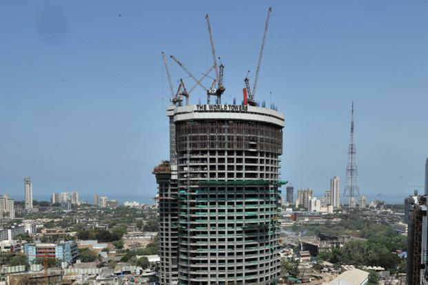 Lodha group says nearly 60% of the World Towers project has been sold. Photo: Sanjay Borade/Mint