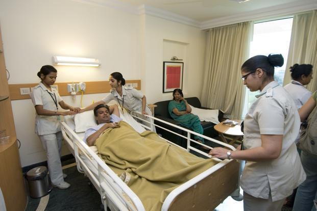 Private Hospital Beds In India