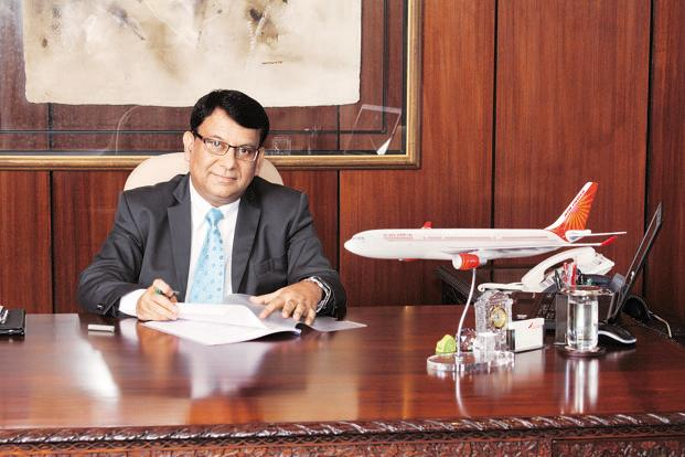 Air India chairman Rohit Nandan.