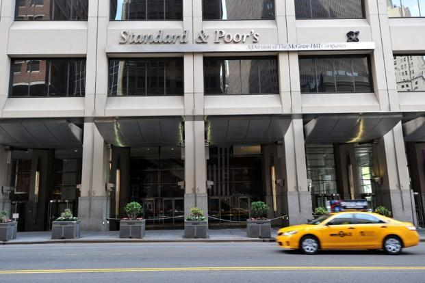 A file photo of S&P headquarters in New York. Photo: AFP (AFP)