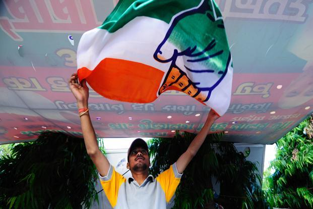 In Delhi, which will elect its state lawmakers later this year, the Congress party is likely to win only two out of the seven Lok Sabha seats, compared with a clean sweep in the 2009 general election, according to the poll. Photo: Pradeep Gaur/Mint