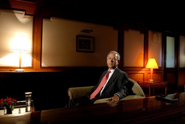 Sebi chairman U.K. Sinha. Photo: Hemant Mishra/Mint (Hemant Mishra/Mint)