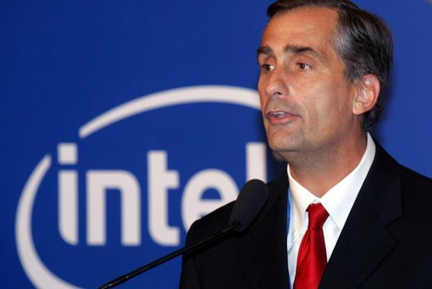 Intel CEO shakes up units, creates 'new devices' group