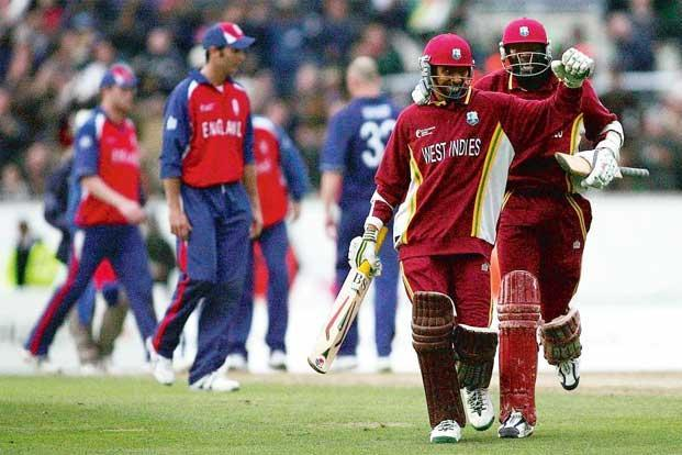 West Indies Ian Bradshaw And Courtney Browne Right Photos Getty Images
