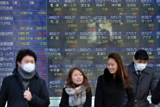 Tokyo plummeted after HSBC said manufacturing activity in China contracted in May for the first time in seven months, in another sign of the weakness of recovery in the world's second-largest economy. Photo: AFP