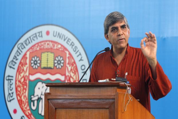 A file photo of Dinesh Singh, vice-chancellor of Delhi University. Photo: HT<br />