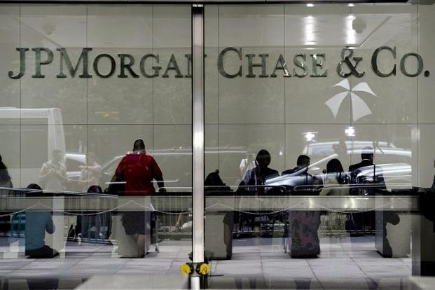 A file photo of JP Morgan Chase headquarters on Park Avenue in New York. Photo: AFP (AFP)